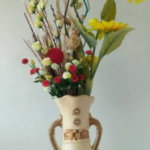 Vase and Quality Flowers