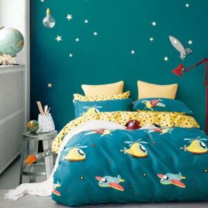 Bedsheet, Duvet & Pillowcase