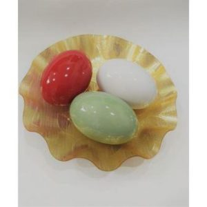 BEAUTIFUL ACRYLIC BOWL WITH EGGS