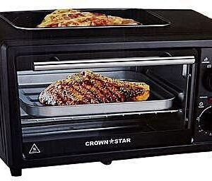 MASTER CHEF 11L ELECTRIC TOASTER OVEN WITH TOP GRILL