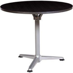 Lifemate Office Furniture Black And Steel Leg Meeting Table