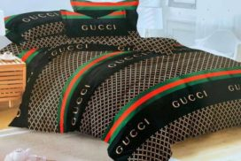 Gucci Bed Sheet With Pillow Cases