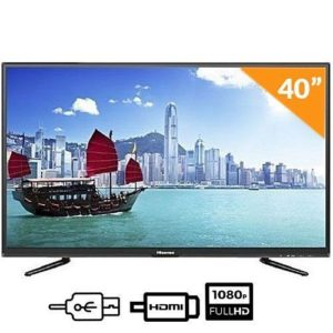 Hisense 40-Inch LED Full HD Tv With Free Wall Bracket…