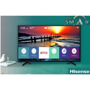 Hisense 55″ 4K Smart Ultra HD TV With WiFi & Free Wall Bracket B7100