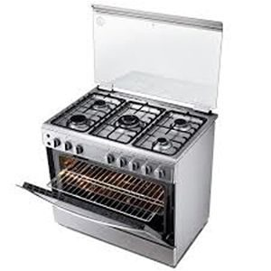 90 CM LG GAS COOKER WITH DUAL HEATING
